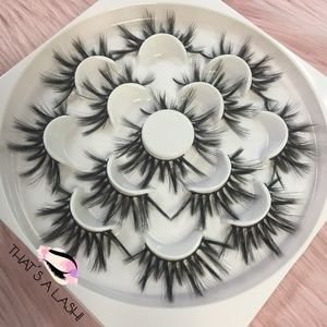 Mink Lashes 25mm 7 Pairs Gorgeous Eyelashes